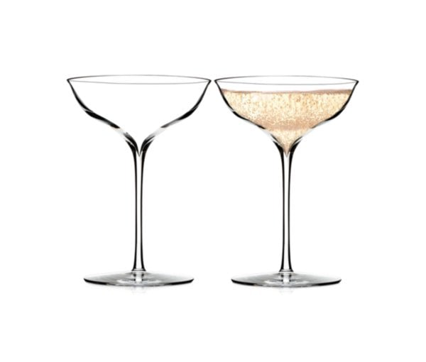 Waterford elegance champagne belle coupe pair unique gifts for young women 2014 popsugar - Waterford champagne coupe ...