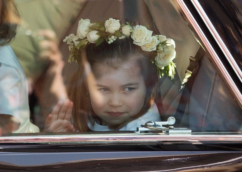 Princess Charlotte Facial Expressions Photos