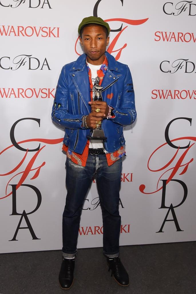 The CFDA Fashion Icon Award: Pharrell Williams