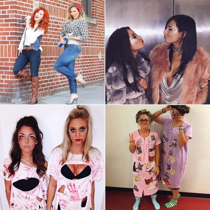 Easy But Good Halloween Costumes.Easy Halloween Costumes For Best Friends Popsugar Love Sex