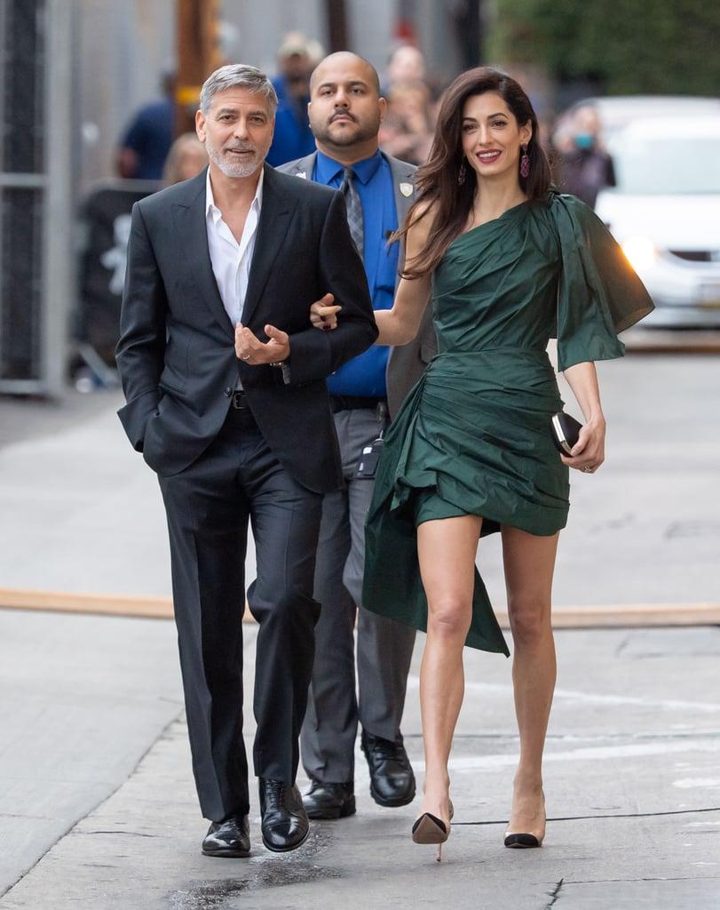 Amal Clooney Green Oscar de la Renta Dress May 2019