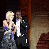 Pictured: Taylor Swift and Idris Elba