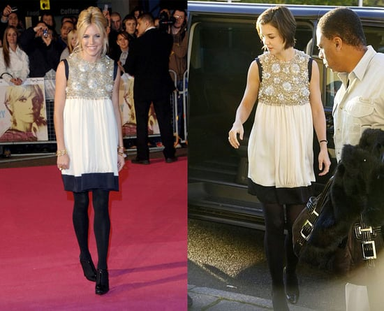 Who Wore It Better? Sequined Balenciaga Babydoll Dress