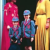Best Pictures of Princess Diana with Prince William and Prince Harry