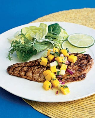 Grilled Snapper With Mango Salsa Recipe