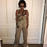 Rihanna Showed Off the Unlined Bra Under Her Jumpsuit