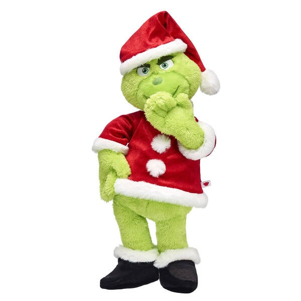 The Grinch Santa Suit Gift Bundle