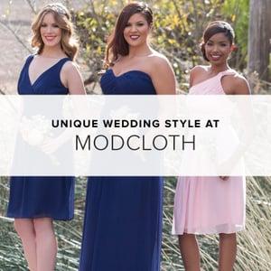ModCloth Wedding Collection | Shopping