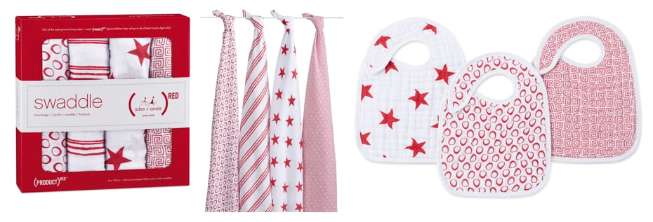 Aden + Anais (RED) Limited Edition Collection