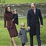 The Royal Family Attended Christmas Day Services on Sunday