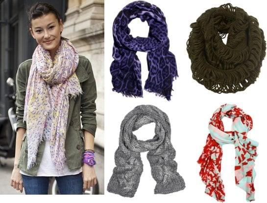 Shop the Best Scarves for Fall Winter 2010