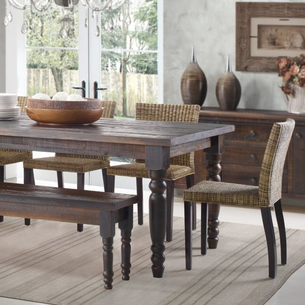 Barnwood dining table ($400)