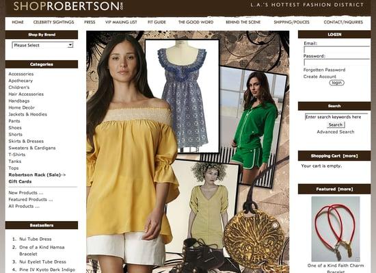 Fab Site: ShopRobertson.com