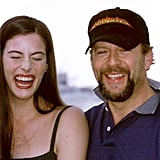 Liv Tyler cracked up while attending a photocall with her Armageddon costar Bruce Willis.