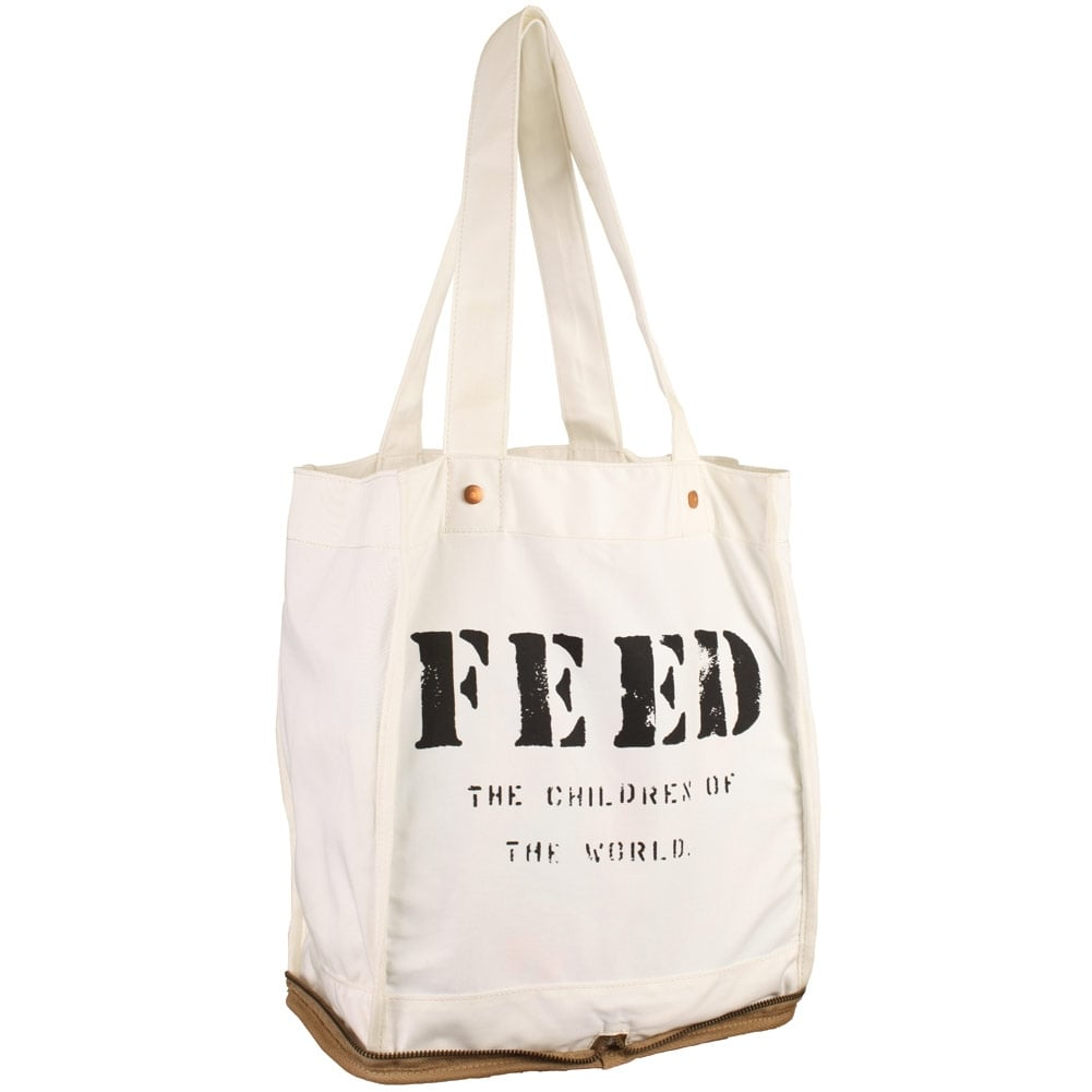 FEED Tote Bag