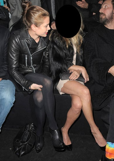 Pictures of Celebrities at Paris Fashion Week 2011-01-26 12:56:05
