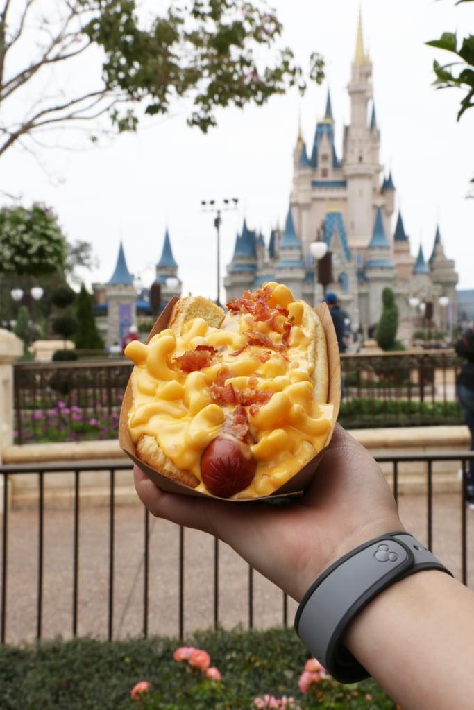 Disney's Bacon Macaroni Hot Dog ($11 With Fries)