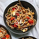 Vegan: Spicy Roasted Ratatouille With Spaghetti