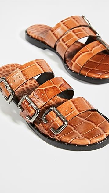 Freda Salvador Ines Multi Strap Sandals