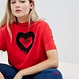 Lazy Oaf Valentines Not Thinking Oversize T-Shirt
