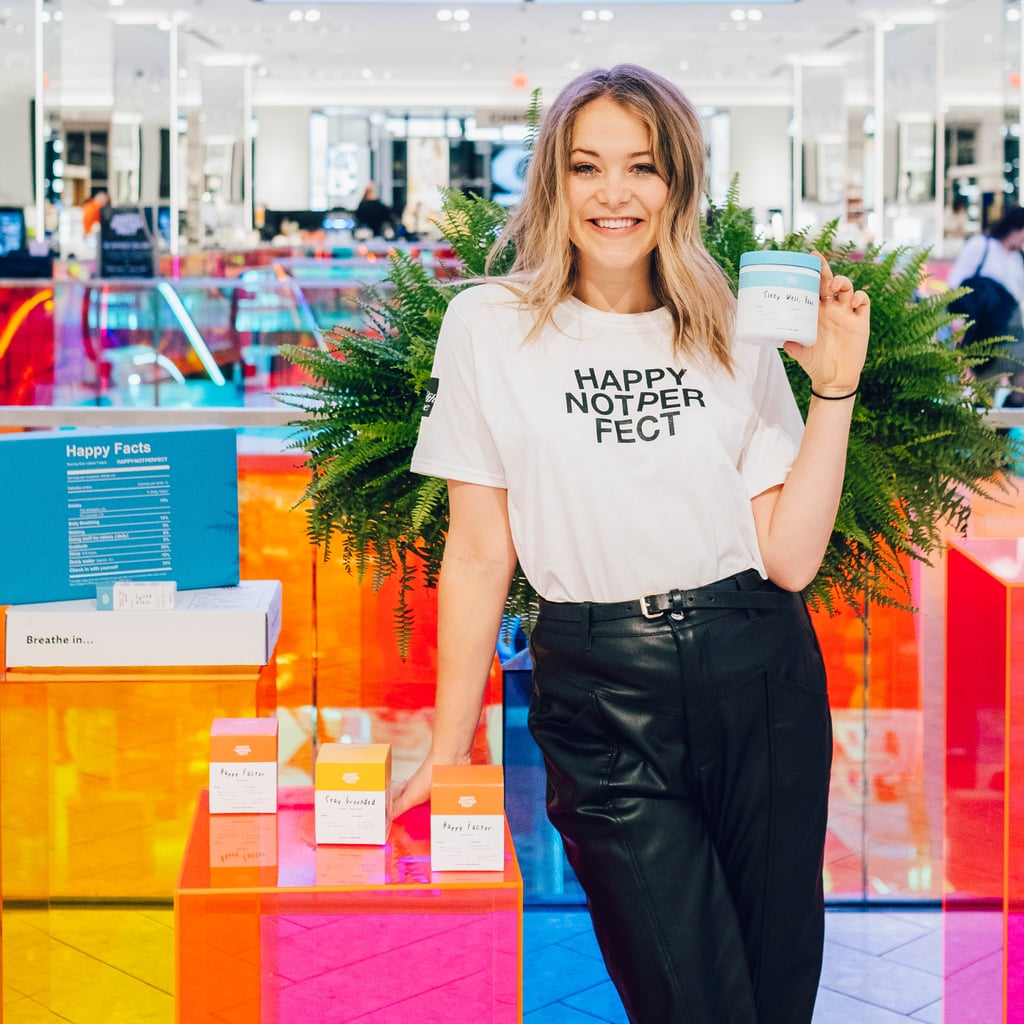 Poppy Jamie of Happy Not Perfect on Mindfulness