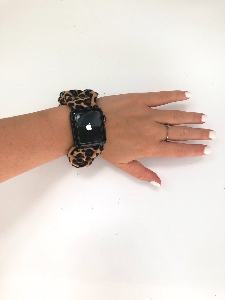 Cheetah Print Scrunchie Watch Band