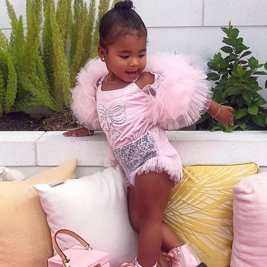 True Thompson Rocked Fashion Week in a Pastel Pink Tutu