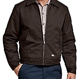 Dickies Lined Eisenhower Jacket in Dark Brown ($43)