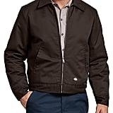 Dickies Lined Eisenhower Jacket in Dark Brown ($43)