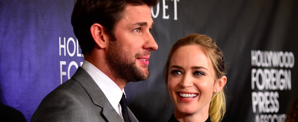 The Story of John Krasinski Meeting Emily Blunt Is as Adorable as They Are