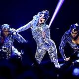 Photos of Lady Gaga Performing at AT&T TV Super Saturday Night in Miami