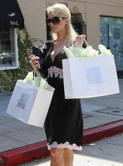 Paris Hilton out and about