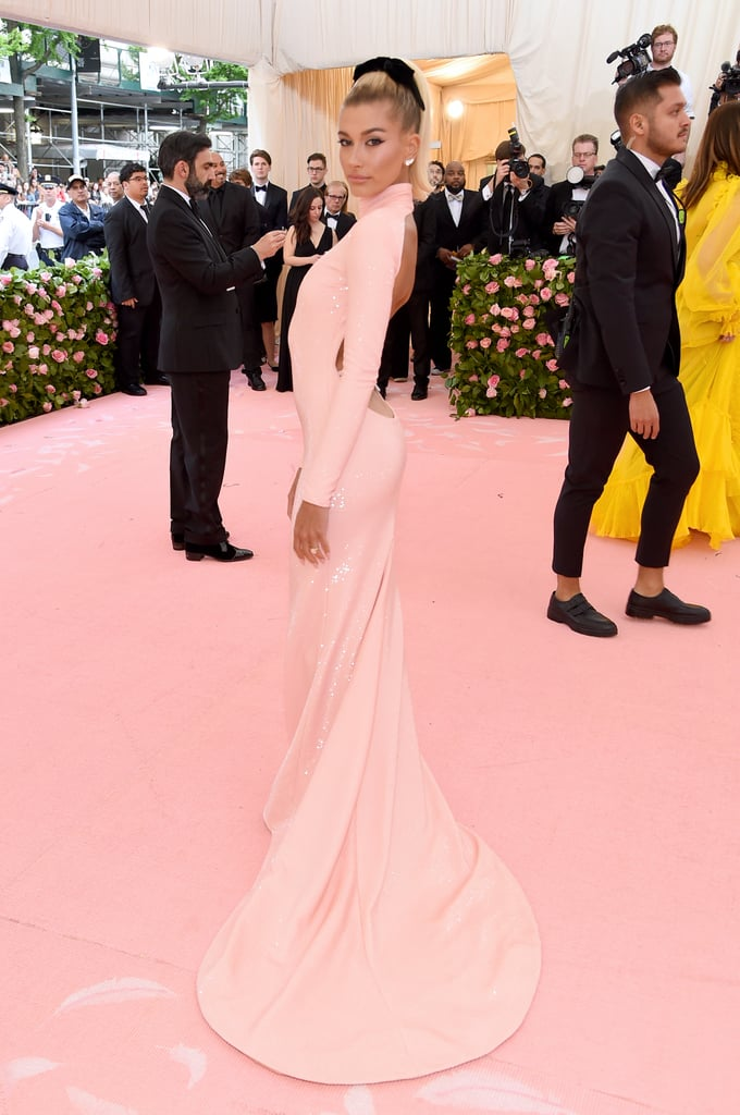 Hailey Baldwin at the 2019 Met Gala