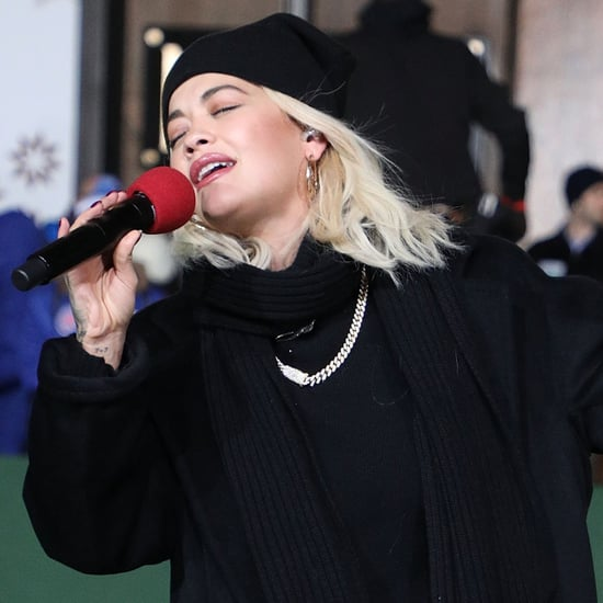 Rita Ora Lip Syncing at Macy's Thanksgiving Parade Video