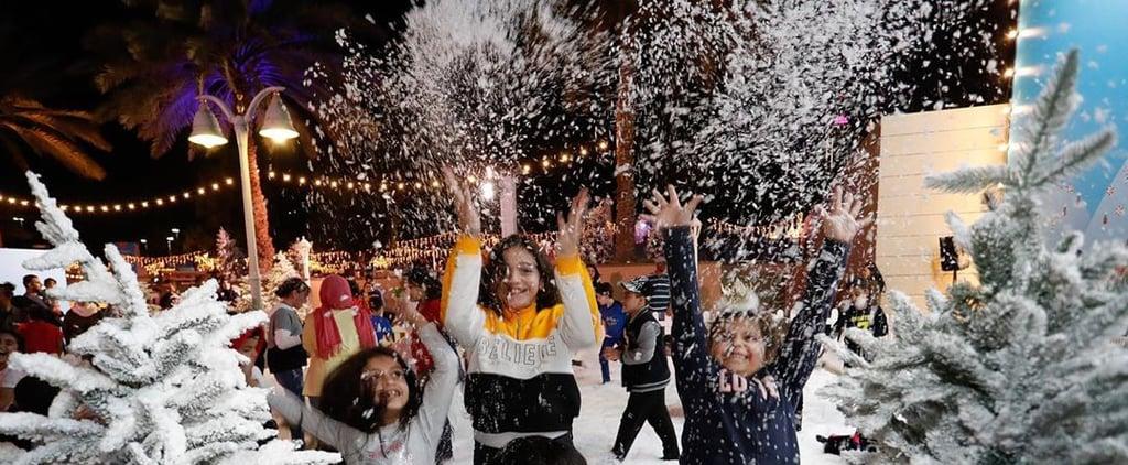 لحظات أبوظبي تطلق مهرجان الشتاء الأول من نوعه في تريخها 2019
