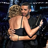 Taylor and Drake shared a sweet embrace in the audience in 2013.