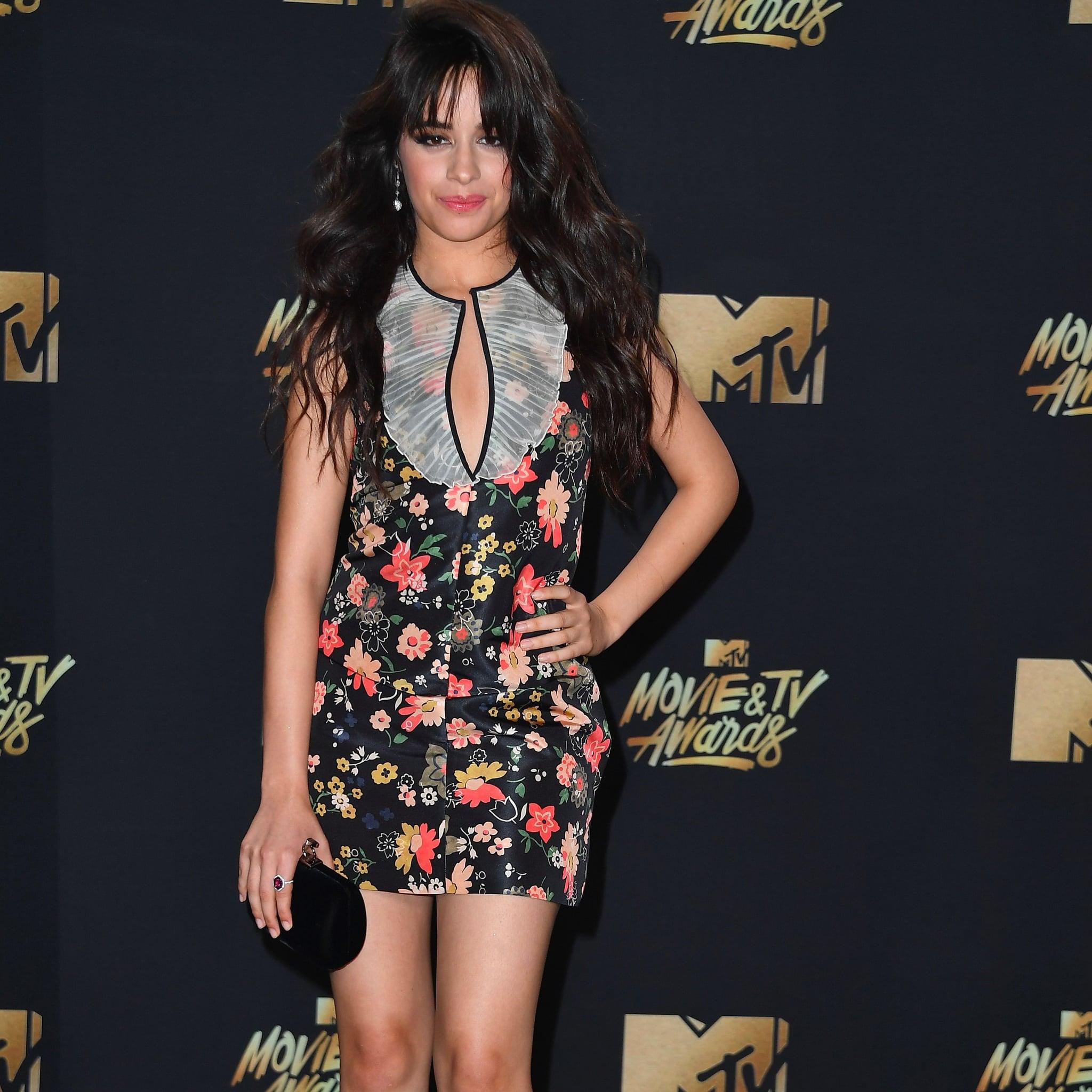 Camila cabello mtv movie and tv awards in los angeles new pics