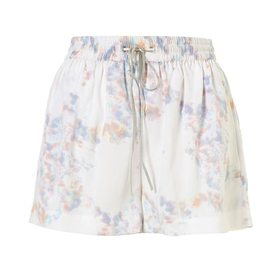 "Topshop White Marble Print Shorts, $66    Pair with:    <iframe src=""http://widget.shopstyle.com/widget?pid=uid5121-1693761-41&look=3445410&width=3&height=3&layouttype=0&border=0&footer=0"" frameborder=""0"" height=""244"" scrolling=""no"" width=""286""></iframe>"