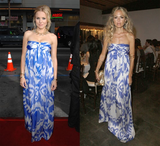Who Wore it Better? Jenni Kayne Silk Tie Gown