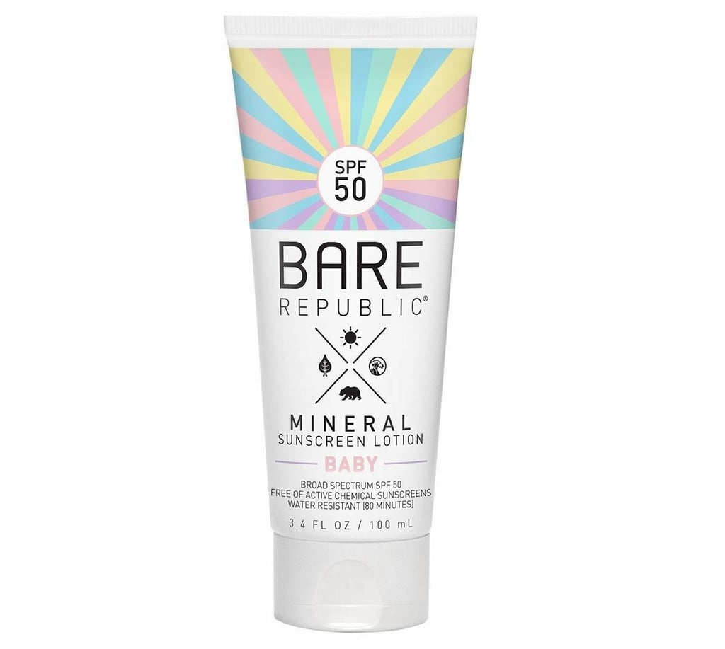 Drugstore Find: Bare Republic Baby Mineral Sunscreen Lotion, SPF 50