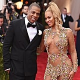 "2015: Jay Z put divorce rumors to rest. In April, the rapper posted a now-deleted Instagram video of his wedding to Beyoncé amid reports that the couple was headed for divorce. The following month, Beyoncé and Jay Z returned to the Met Gala, exactly one year after the afterparty elevator incident. 2016: Beyoncé dropped Lemonade. The HBO special featured songs with lyrics that hinted at infidelity and a marriage in crisis, further fueling rumors that Beyoncé and Jay Z's marriage was on the rocks. Beyoncé's mom, Tina Lawson, eventually weighed in on the meaning of Lemonade, saying, ""It could be about anyone's marriage. I think that everybody at one time or another has been betrayed and lied to and it's about the pain and it's about the healing process and it's about, 'How do you get past that and move on?'"" While Beyoncé has yet to address the speculation, Jay made a statement of his own when he collaborated with Fat Joe, Infared, Rema Ma, and French Montana on the ""All the Way Up"" remix. In the song, he raps, ""You know you made it when the fact / Your marriage made it is worth millions / Lemonade is a popular drink and it still is / Survival of the littest."" Still, Beyoncé and Jay appeared to be on good terms and he even joined her on stage during her Formation World Tour."