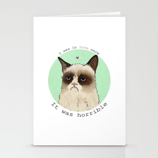 Grumpy Cat Love Stationery Cards