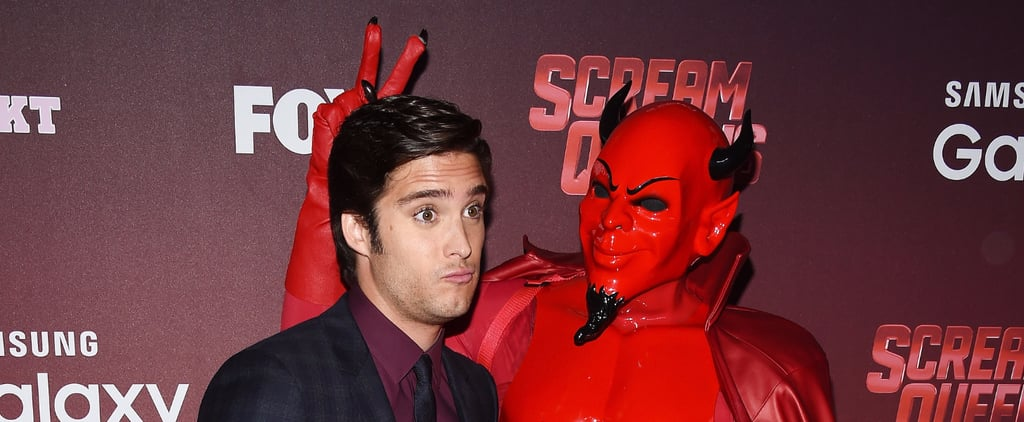 Diego Boneta Got Silly at the Scream Queens Premiere, and It's the Cutest