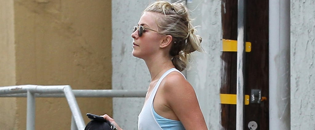 Julianne Hough Shows Off Her Toned Abs After Breaking a Sweat at the Gym