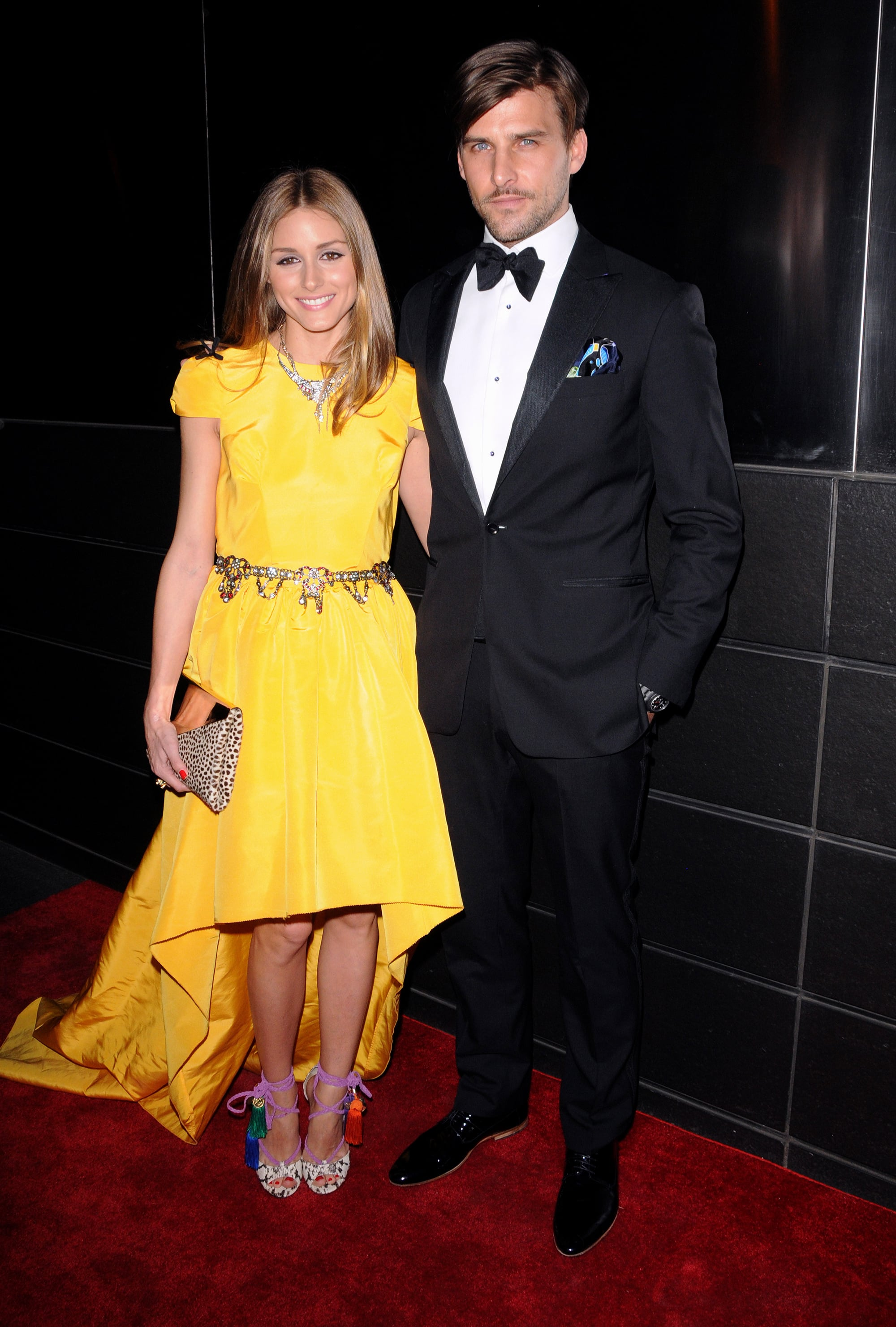 Olivia Palermo wore a Katie Ermilio gown for the New Yorkers for Children dinner in NYC.