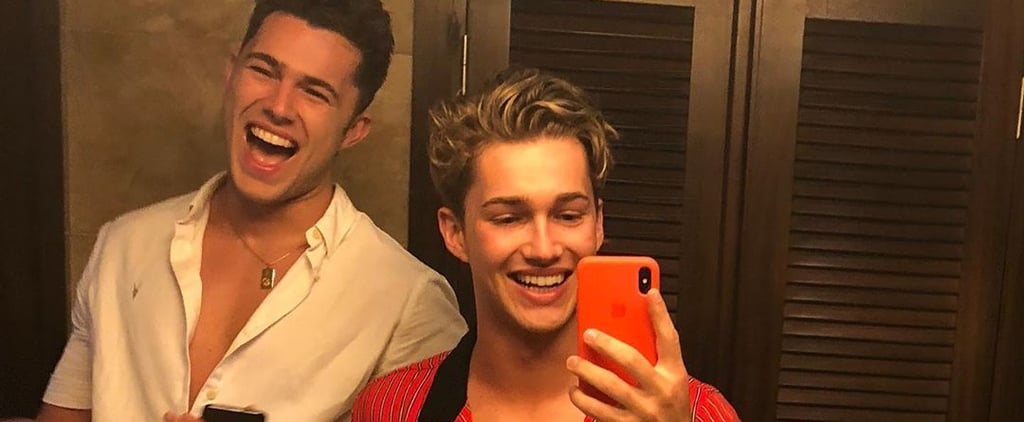 Pictures of Curtis and AJ Pritchard