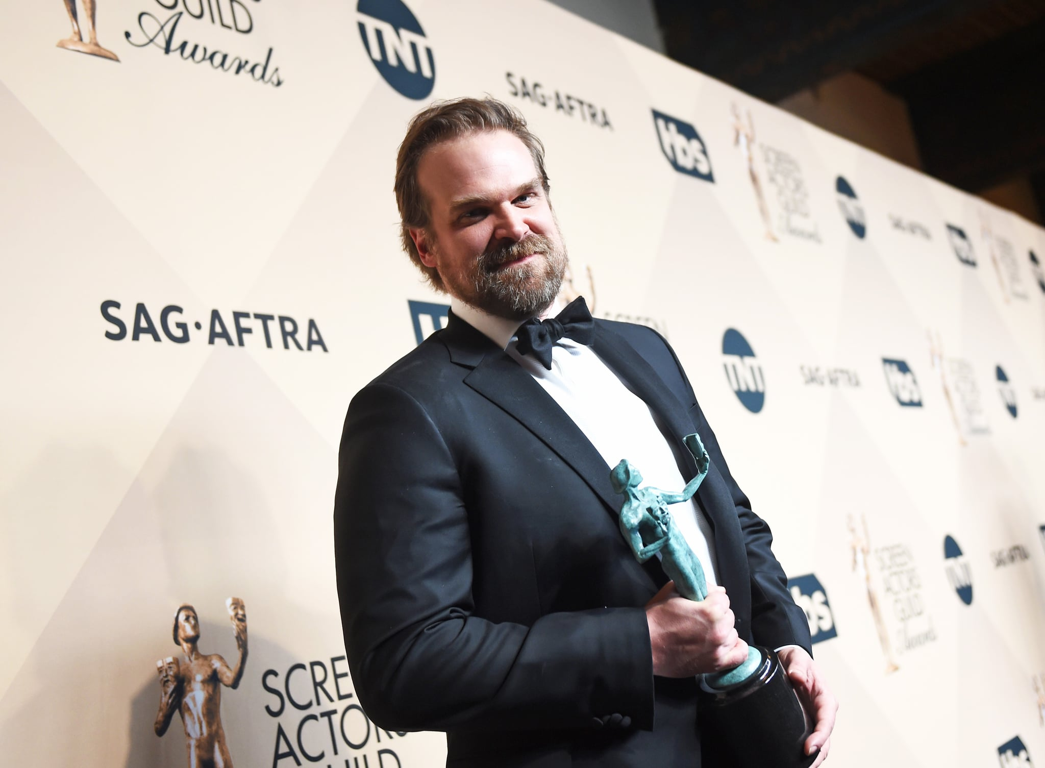 Stranger Things: David Harbour addresses powerful SAG Awards speech