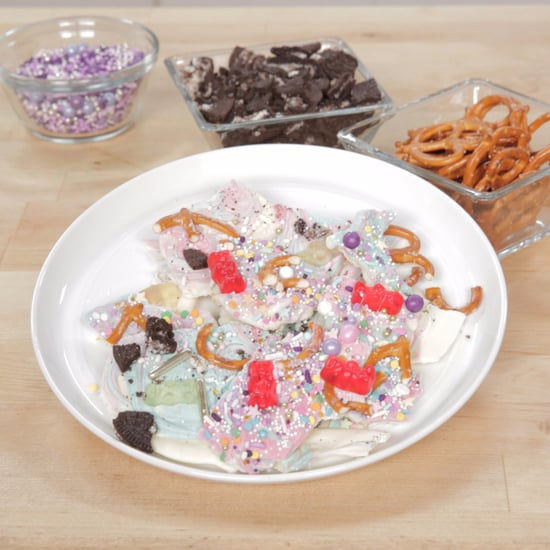 Rainbow Chocolate Bark Recipe