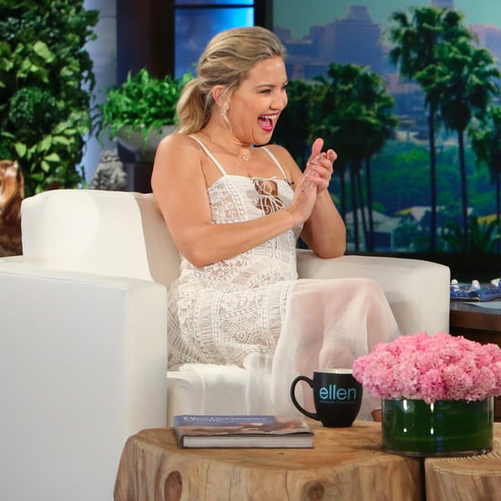 Kate Hudson on The Ellen DeGeneres Show September 2016