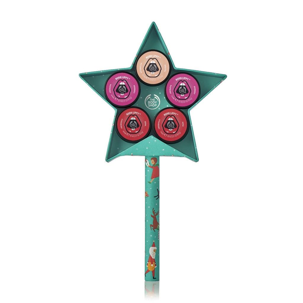 Christmas Gift Sets Body Shop.The Body Shop Born Lippy Festive Star Gift Set The Body